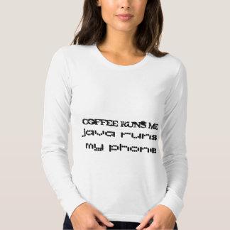 o café funciona-me, funcionamentos de java meu camisetas