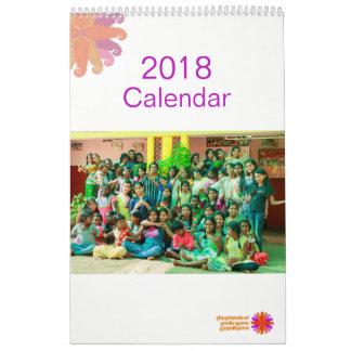 O calendário 2018 da juba de Baale