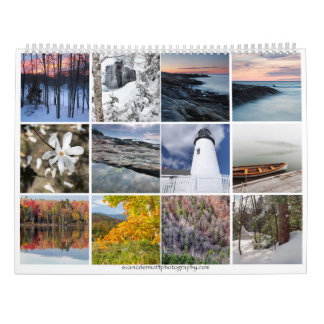 O calendário de Nova Inglaterra