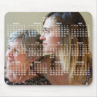 O calendário feito sob encomenda Mousepads 2017
