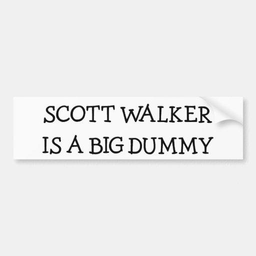 O caminhante de Scott é um manequim grande Adesivos