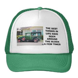 o caminhão antigo, as MELHORES COISAS INLIFE FOI… Bonés