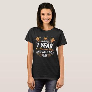 ø Camisa do aniversário para a esposa do marido