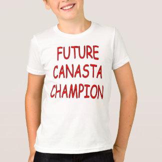 """""""O campeão futuro do Canasta"""" caçoa a camisa"""