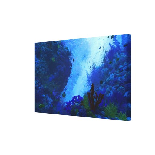 O campo de jogos de Poseidon Impressão Em Canvas