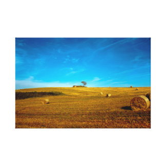 o campo romano impressão em tela