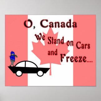 O Canadá Posteres