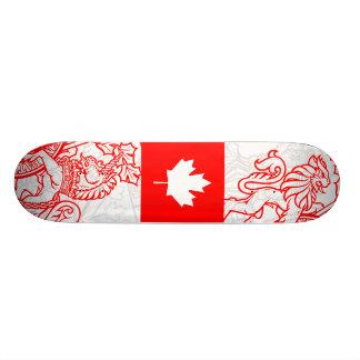 O Canadá Shape De Skate 19,7cm
