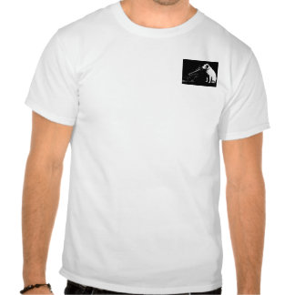 O cão de RCA era um pitbull Camiseta