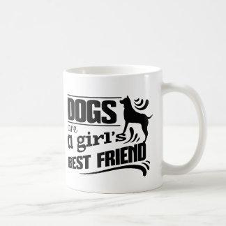 O cão é caneca de café do melhor amigo de uma