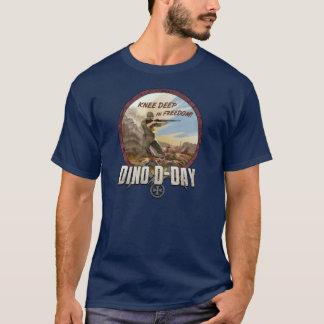 O capitão Hardgrave Camisa do dia D de Dino