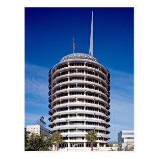 O Capitólio grava o LA da torre Cartão Postal