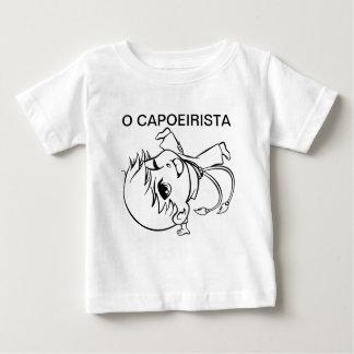 O CAPOEIRISTA CAMISETA PARA BEBÊ