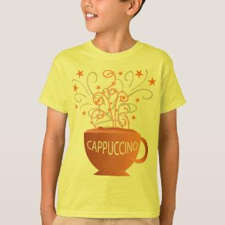 o cappuccino caçoa a camisa