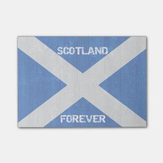 O Cargo-it® de Scotland para sempre nota 4 x 3 Bloco Post-it