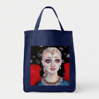 O carmesim voa o anjo bolsas para compras