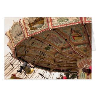 O carnaval balança o cartão 5x7
