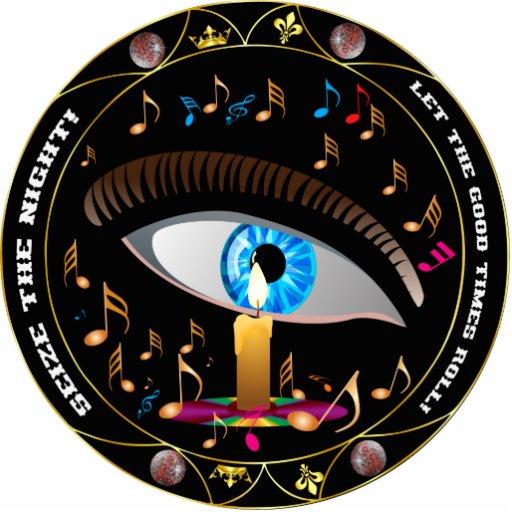 O carnaval Máscara-Apreende o chaveiro da noite Fotoescultura