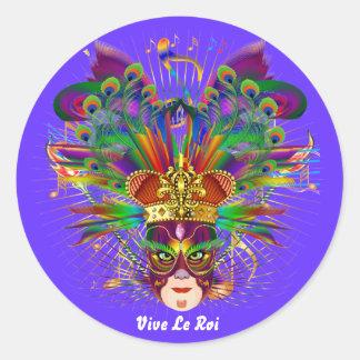 O carnaval sobre 30 cores satisfaz vê notas adesivo