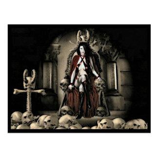 O cartão 1 do vampiro do mantimento