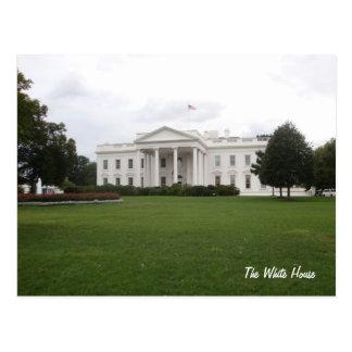O cartão branco da casa