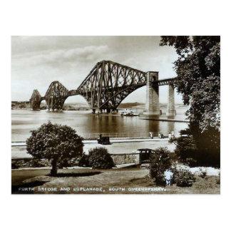 O cartão, constrói uma ponte sobre adiante, cartão postal