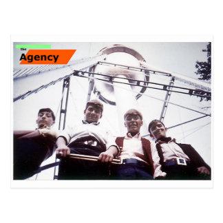 O cartão da agência