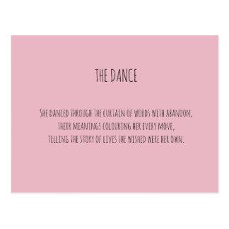 O cartão da dança