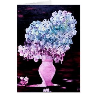 O cartão da estação, flor das flores