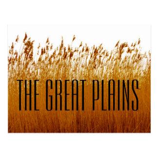 O cartão da Grandes Planícies