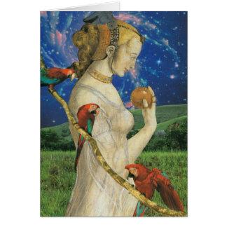 O cartão da imperatriz