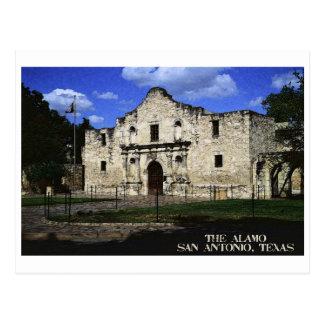 O cartão de Alamo Cartão Postal