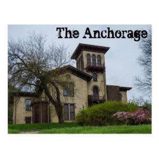 O cartão de Anchorage