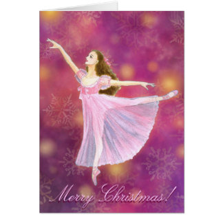 O cartão de cartões de natal de Clara do