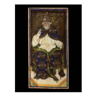 O cartão de Hierophant Tarot Cartão Postal