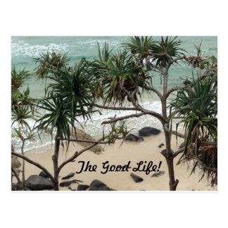 O cartão de imagem da boa vida