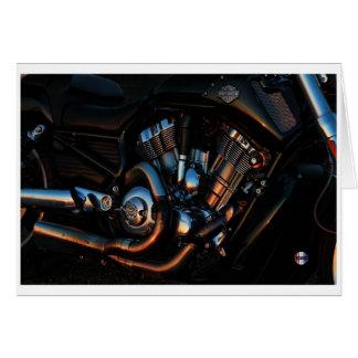 O cartão de incandescência do motor