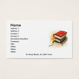 O cartão de leitor