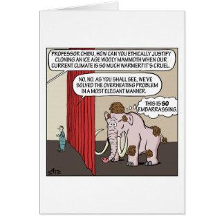 O cartão de Mammodoodle
