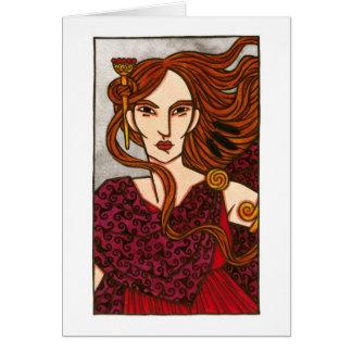 O cartão de Mórrígan