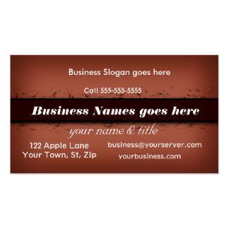 O cartão de negócio do bar do Dois-Tom personaliza Cartão De Visita