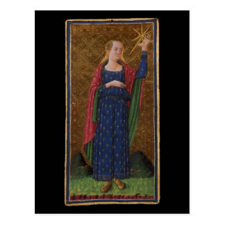 O cartão de Tarot da estrela