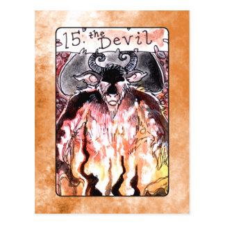 O cartão de Tarot do diabo