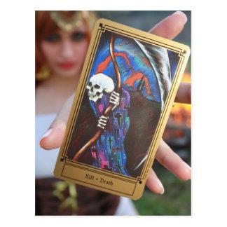 O cartão de Tarot do fim