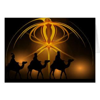 O cartão de viagem dos homens sábios