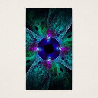 O cartão de visita da arte abstracta do olho