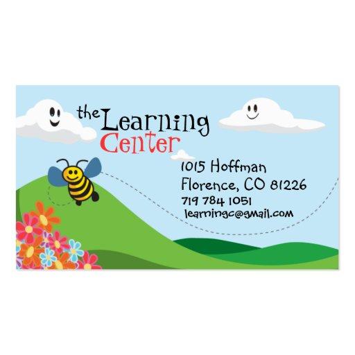 O cartão de visita das crianças