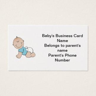O cartão de visita do bebê