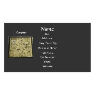 O cartão de visita do contador