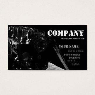 O cartão de visita do mecânico